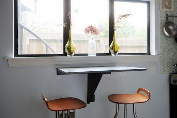 Дизайнерский складывающийся навесной стол для балкона..